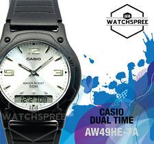 Casio Analog Digital Dual Time Watch AW49HE-7A