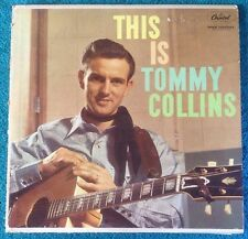 TOMMY COLLINS - This Is Tommy Collins - Vinyl LP - Capitol T1196