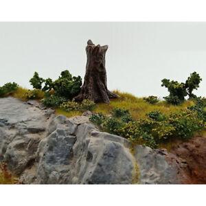 Sand Table Tree Stump Model Micro Landscape Miniatures DIY Figurine Decor