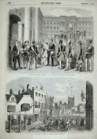 Old Antique Print 1858 Prince Frederick-William Royal Palace Berlin Sport 19th