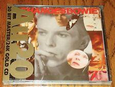 DAVID BOWIE RARE 24 KARAT GOLD CD AU20 CHANGES BOWIE STILL SEALED  1990