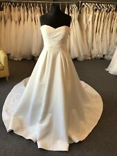 Maggie Sottero Cressida Ivory Wedding Dress Size UK14/ US 12 Ex Sample Unaltered