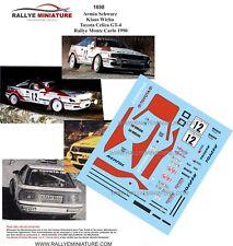 DECALS 1/43 REF 1698 TOYOTA CELICA GT4 SCHWARZ RALLYE MONTE CARLO 1990 RALLY WRC
