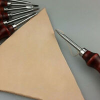 Leathercraft Edge Beveler Skiving Craft Tool Set Keen for Hand Made Leather Tool