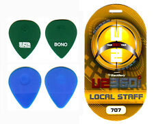 U2 - The Edge / Bono - 360 Tour - Authentic Guitar Pick Set & Backstage Pass!