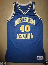 Northern Arizona Lumberjacks NAU #40 Basketball champion Game Used Jersey 46