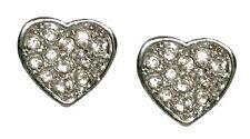 Mode-Ohrschmuck mit Strass-Perlen und Herz-Schliffform