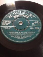 """MAX BYGRAVES 7"""" EP - DUMMY SONG / LOVELY DOLLAR LOLLY / COWPUNCHER'S CANTANA"""