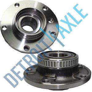 2x Front Wheel Bearing Hub Unit For BMW 5 Seires 7 Sieres RWD Replacement