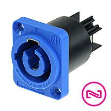 Neutrik NAC3MPA - 1 PowerCon Receptacle Blue AC Power Connector (Qty 1)