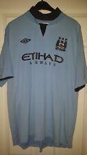 Mens Football Shirt - Manchester City FC - Home 2012-2013 - Umbro - Size 46 GB