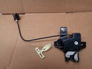 2007 2008 2009 Lincoln MKZ W/O Spoiler Trunk Latch W Cable 170-00599