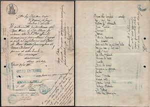 LICENZA PER INSTALLARE RADIOGRAMMOFONO BACCHINI IN UN BAR 1935-L2325