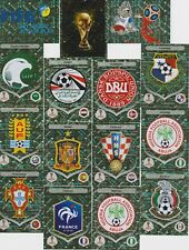 Panini WM 2018 Russia World Cup alle Glitzersticker zum aussuchen