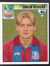 MERLIN CALCIO ADESIVO - 1995 PREMIER LEAGUE-N. 130-Crystal Palace-Roger