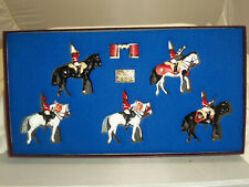 BRITAINS 5195 BRITISH LIFEGUARDS MOUNTED BAND LIMITED EDITION TOY SOLDIER SET 1
