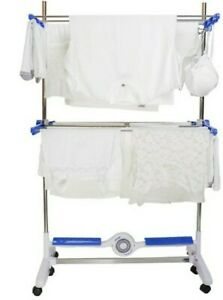 Nu Breeze Electric Clothes Maid Cold Air Drier System Rail Airer Rack