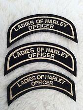Hog Damas De Harley oficial pequeño Top Rocker £ 15