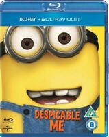 Despicable Me BLU-Ray REGION FREE 1-DISC & ARTWORK ONLY NO CASE UNUSED CONDITION