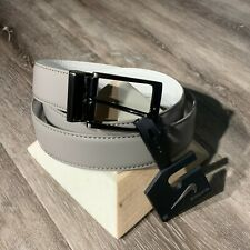 NWT Nike Core 2 in 1 Reversible Belts Grey&White 38