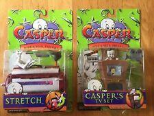 1997 CASPER Hide & Seek Friends STRETCH/TV Set ACTION FIGURE TRENDMASTERS