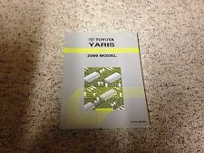 2009 Toyota Yaris Electrical Wiring Diagram Manual S 1.5L 4Cyl