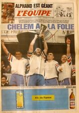 Journal L'Equipe n°15820 - 1997 - Grand Chelem pour la France Rugby - Alphand