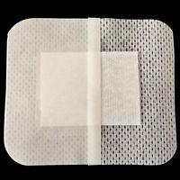 10pc Non-Woven Medical Adhesive Wund Pflaster Bandage 6x7 cm Dressing Belie E3V2