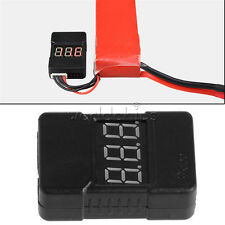 BX100 Check 0.01V Tester Low Voltage Buzzer Alarm for 1-8S LiPo Battery RC374