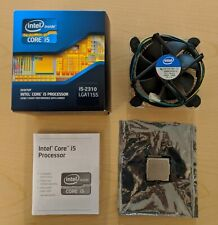 Intel Core i5-2310 Processor @ 2.9GHz Quad, Max 3.2GHz  w/Heat Sink & Fan!