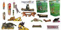 Imperial Cat Scratch n Shapes Scratcher Scratching Mat Organic Catnip Made n USA