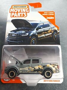 Matchbox 2019 Ford Ranger Moving Parts New 2020