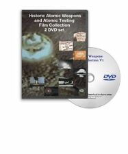 Historic Atomic Nuclear Bomb Tests Weapons Radiation Japan 2 DVD Set - A91-92