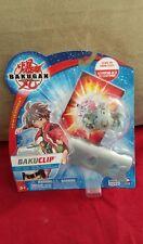 NEW Bakugan Battle Brawlers BakuClip - Haos + 2 Cards