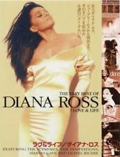 Diana Ross Love & Life Japanese Flyer (4 sides)