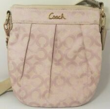 Coach Park Op Art Swing Pack Pink and Tan 42531 Preowned
