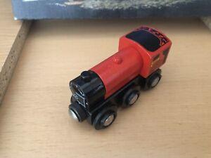 33604 Authentic Brio Wooden Train Red Engine! Thomas!