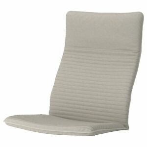 """IKEA POANG CHAIR CUSHION KNISA LIGHT BEIGE POLY 22 x 3 1/2 x52""""  NEW"""