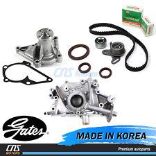HTD Gates Timing Belt Kit Water Oil Pump for 06-11 Hyundai Accent Kia Rio Rio5