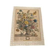 Optimago Madera Furber Flor Grabados # 11/12 Serie 475 Piezas Puzzle Completo