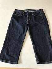 J. Crew Matchstick Cropped Jeans Straight Leg Low Rise Sz 30 Clean Rinse #92753