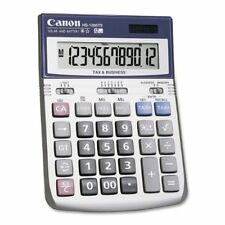 Canon Hs-1200ts 12-digit Angled Display Calculator - 12 Character[s] - Lcd -