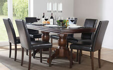 Unbranded Wooden Dining Room Traditional Tables