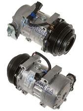 A/C AC Compressor Replaces: Sanden 4080 4377, Peterbilt F696003121, 168527