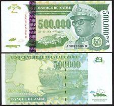 ZAIRE 500.000 Nouveaux Zaires 1996 UNC P 78