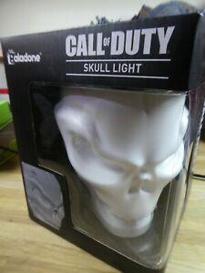 New & Boxed Call of Duty Skull Logo Night Light Mood Lamp USB Powered