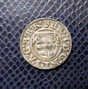 HUNGARY / FERDINAND II.( 1619-1637) SILVER DENAR / 1623 K-B