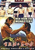 Men From the Monastery -Hong Kong RARE Kung Fu Martial Arts Action movie - NEW