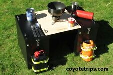 Motorcycle Adventure Pannier Table; BMW GS, KLR, Tenere, Tiger