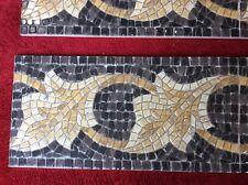 Mosaic Border Tile Porcelain For Wall Or Floor 20x40 £9 Each